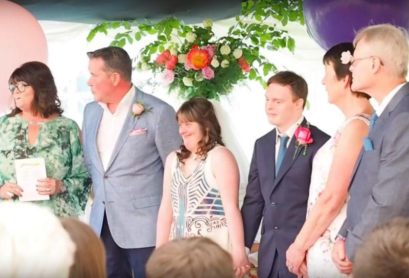 Zespół Downa ślub Papilot