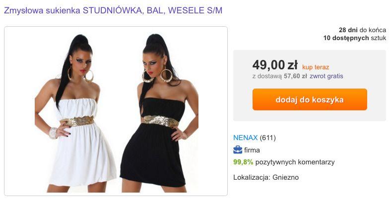 7bb4cae9be źródło  Allegro (http   allegro.pl zmyslowa-sukienka-studniowka-bal-wesele -s-m-i6666957830.html)