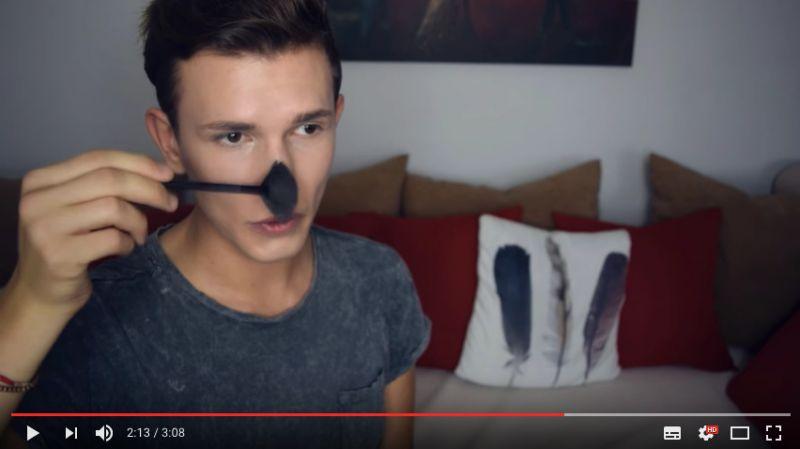 makijaż dla mężczyzny