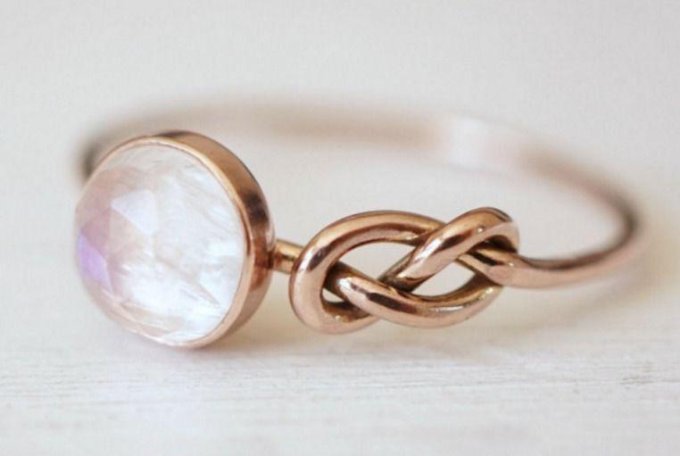 pierścionek zaręczynowy bez brylantu