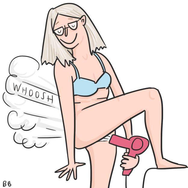 zimowe nawyki kobiet