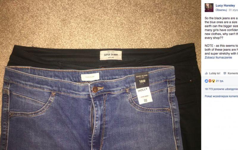 1425b300c4 ... Dlaczego damskie XL to męski rozmiar S  Ten facet obnażył całą prawdę!  rozmiarówka ubrań. źródło  Facebook (facebook.com LucayHorsley)