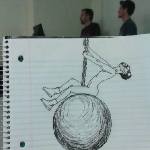 rysunki studentów