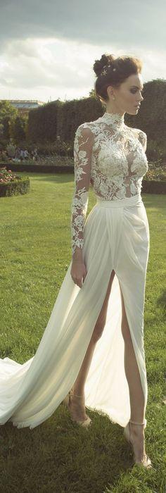Suknie ślubne Z Długimi Rękawami Papilot