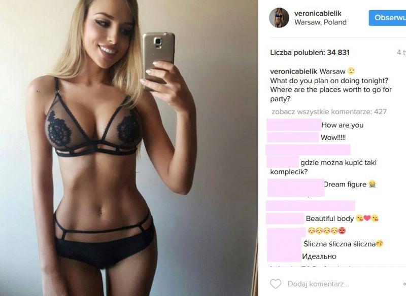 Weronika Bielik Instagram