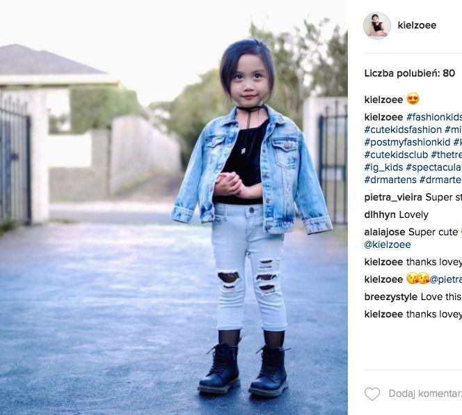 Zoee Yabut dziecięca blogerka modowa | Papilot