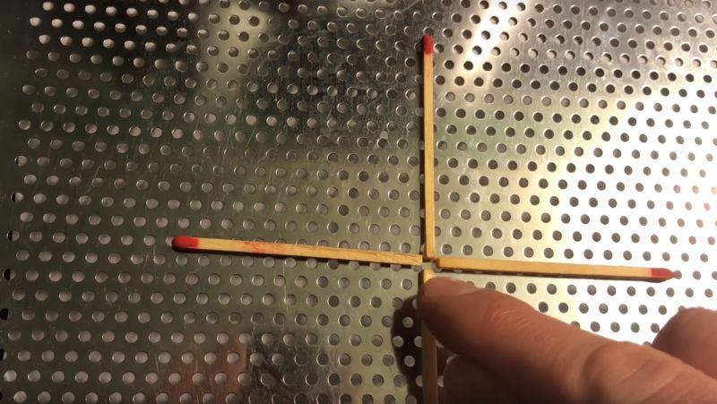 zagadka z zapałkami
