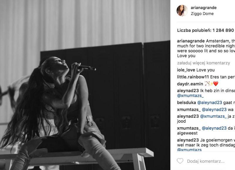 koncert Ariany Grande w Polsce