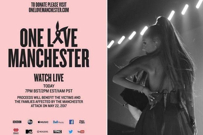 koncert dla ofiar Manchester