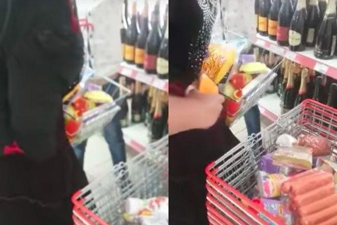kradzież w sklepie