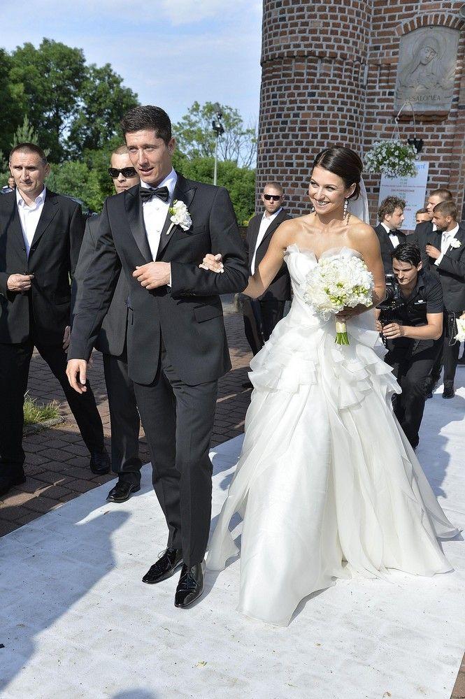 ślub Lewandowskiej