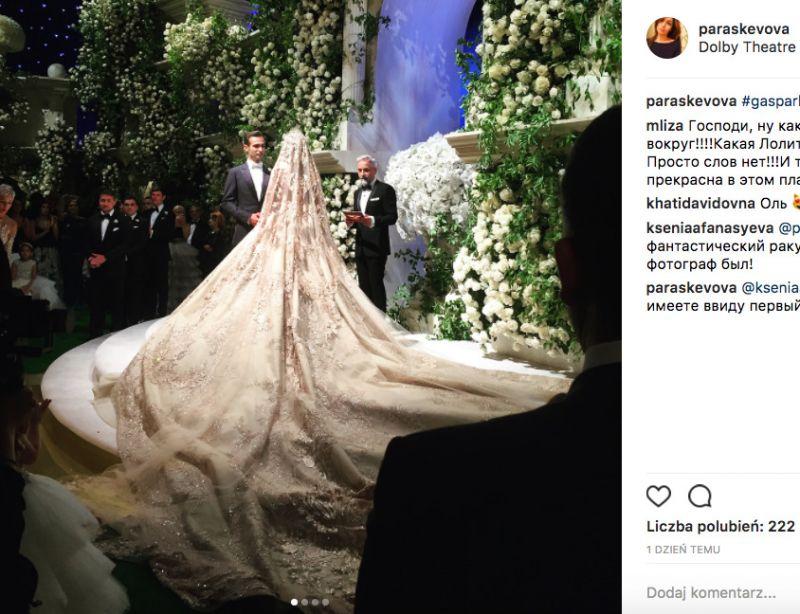 ślub Lolita Osmanova i Gaspar Avdolyan