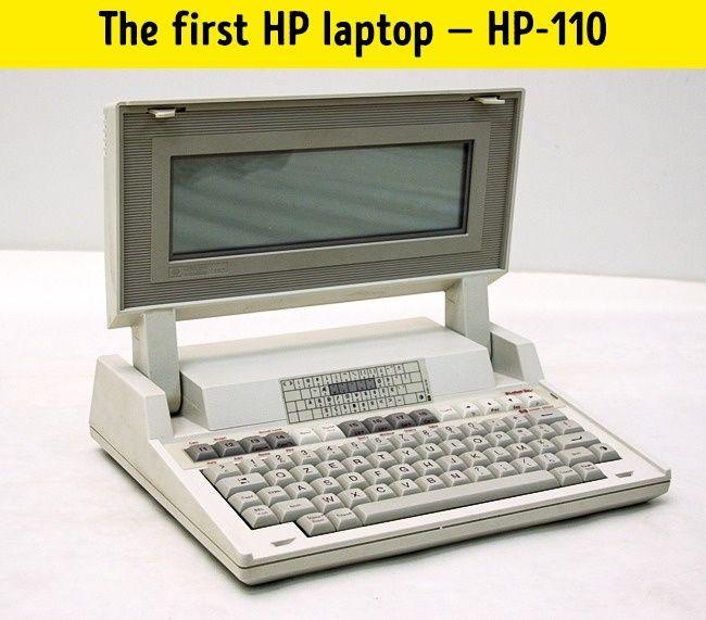 Pierwszy laptop HP