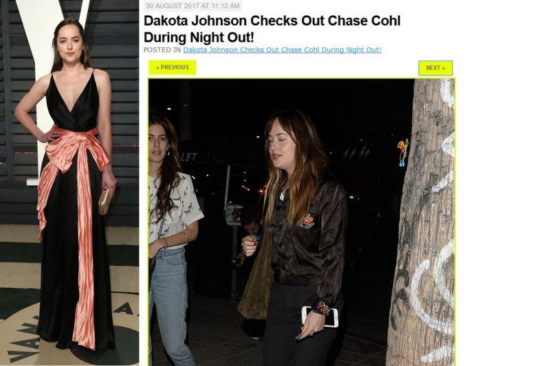 Dakota Johnson ma nadwagę