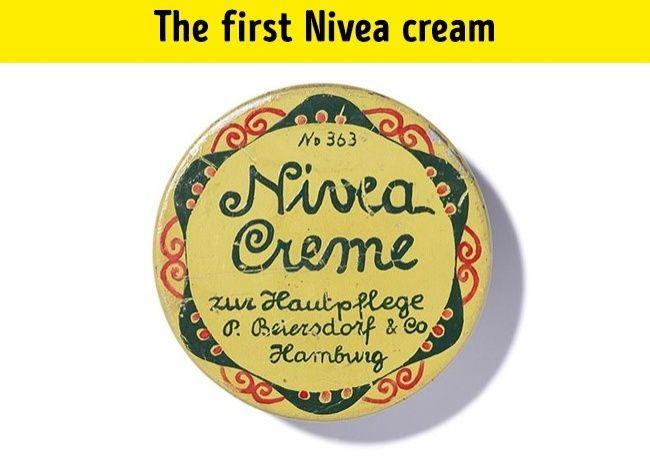 Pierwszy krem NIVEA