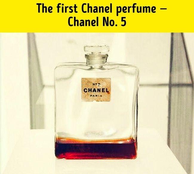 Pierwsze pefumy CHANEL