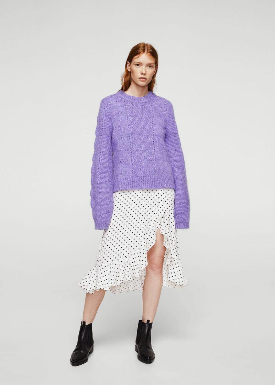 luźny sweter