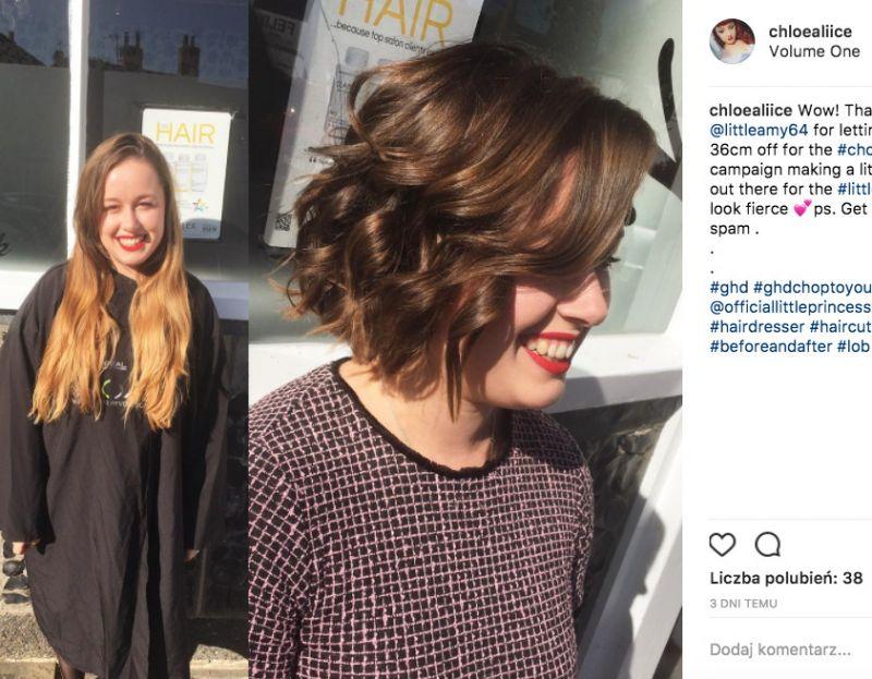 oddanie włosów