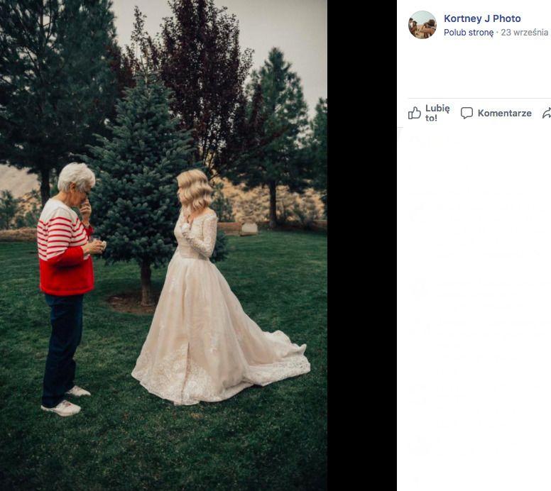 stara suknia ślubna