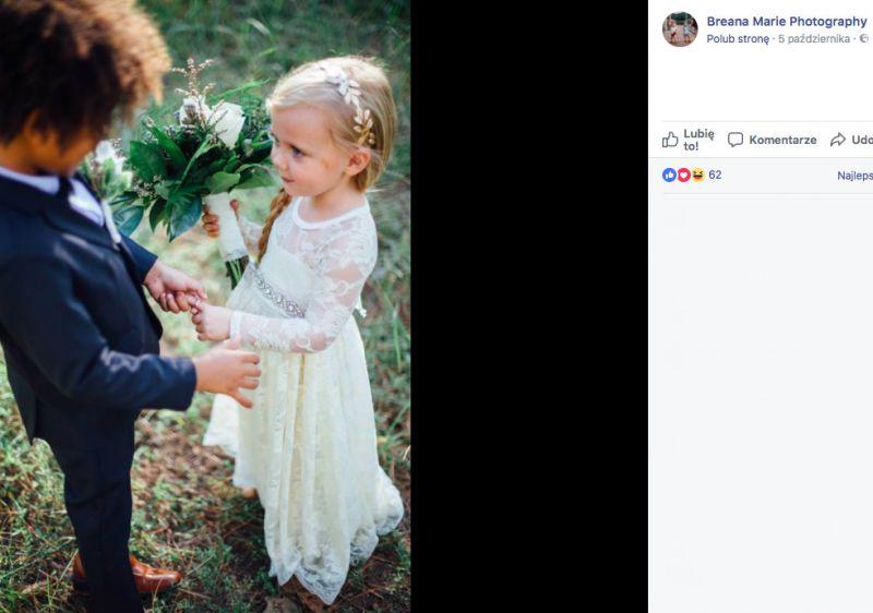 ślub dzieci