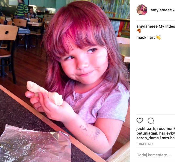 farbowanie włosów dziecku