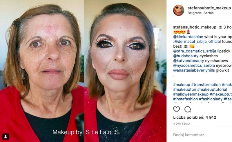 makijaż dla dojrzałej kobiety