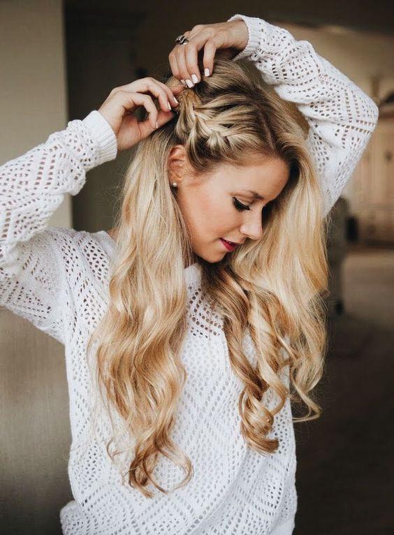 Najpiękniejsze Fryzury Na Studniówkę Włosy Rozpuszczone