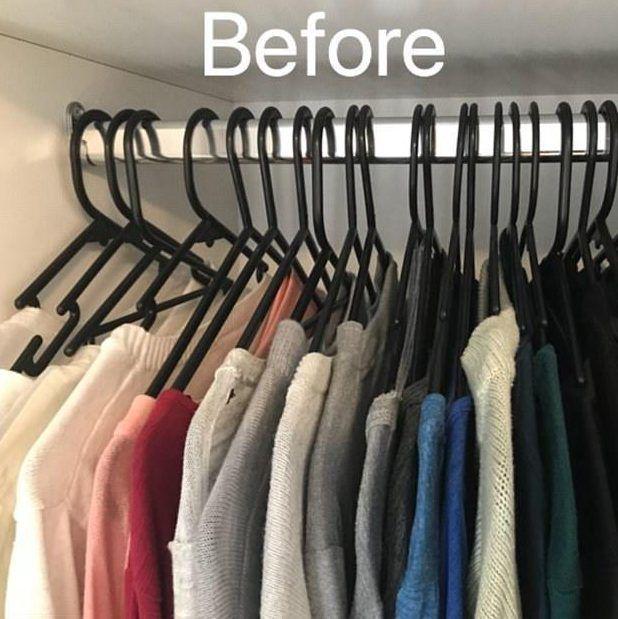 porządki w szafie