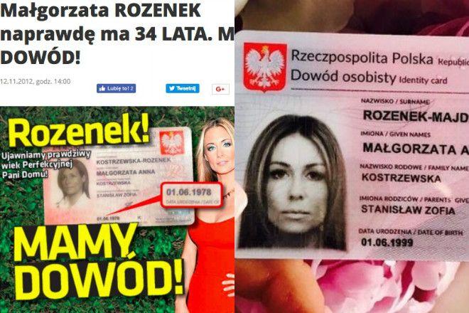 Małgorzata Rozenek wiek