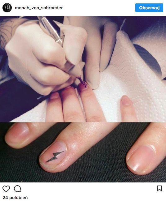 Tatuaż Na Paznokciach Papilot