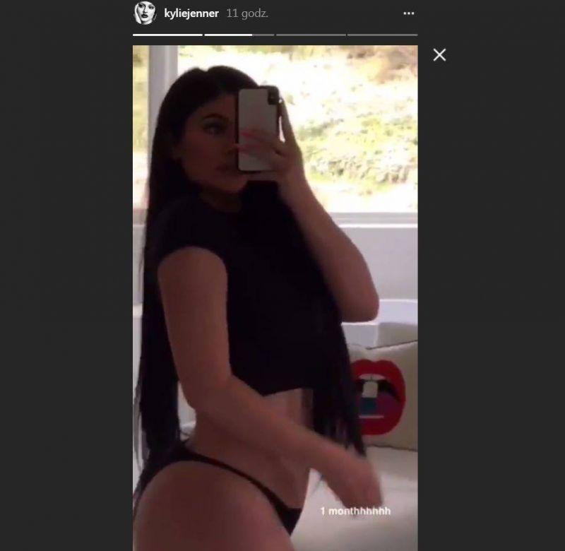 brzuch Kylie Jenner