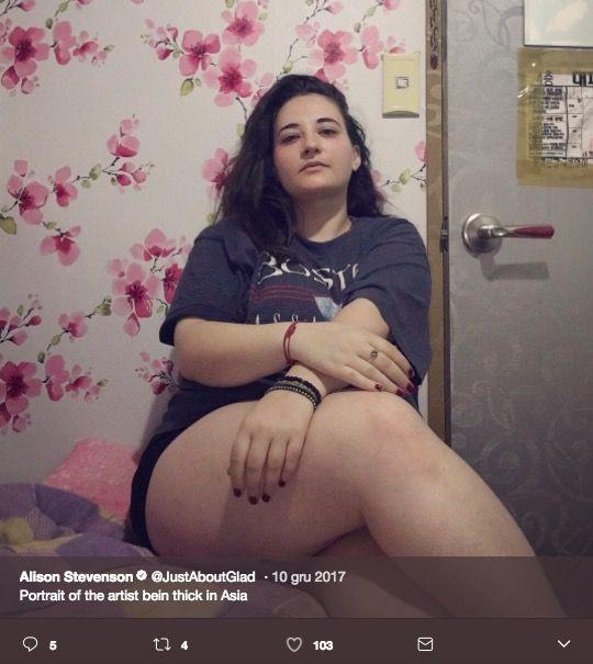 duży brzuch u kobiety