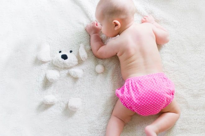 przewijanie dziecka