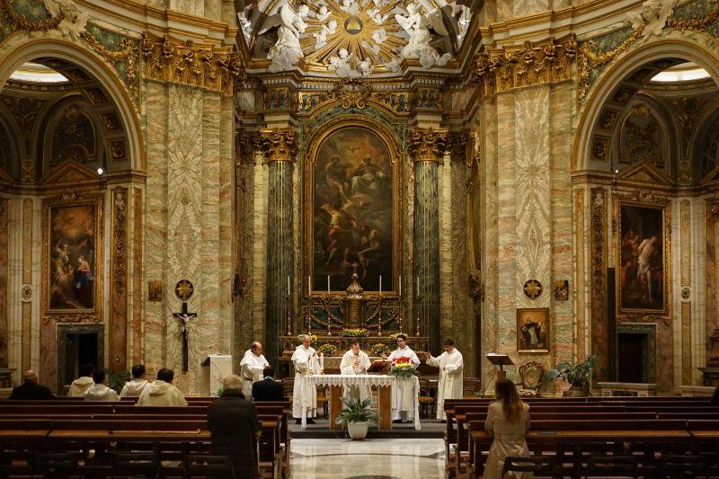 zachowanie podczas mszy