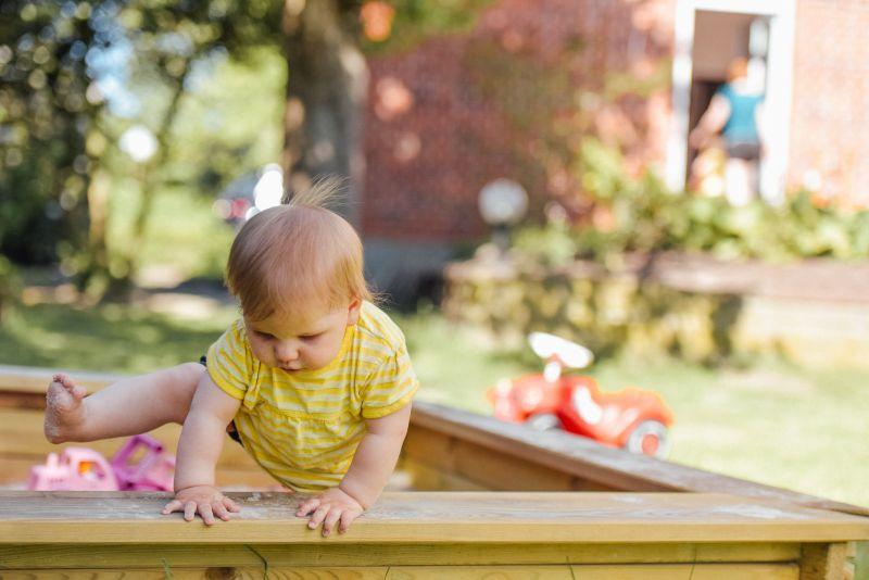 dziecko sąsiadki
