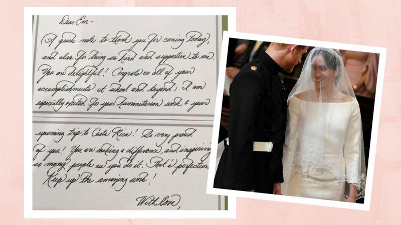 pismo Meghan Markle