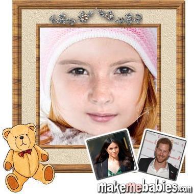 Tak będzie wyglądało dziecko Meghan i Harry'ego. Przygotowano wizualizację jego twarzy