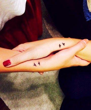 śliczne Tatuaże Dla Przyjaciółek Papilot