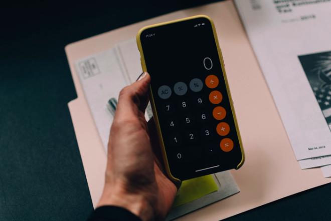 kalkulator w telefonie
