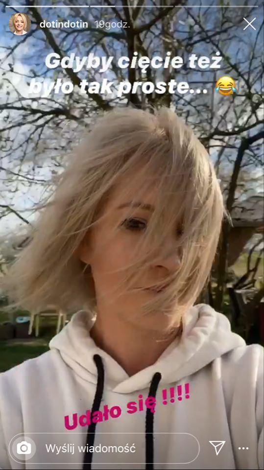 Szelągowska farbuje sobie włosy