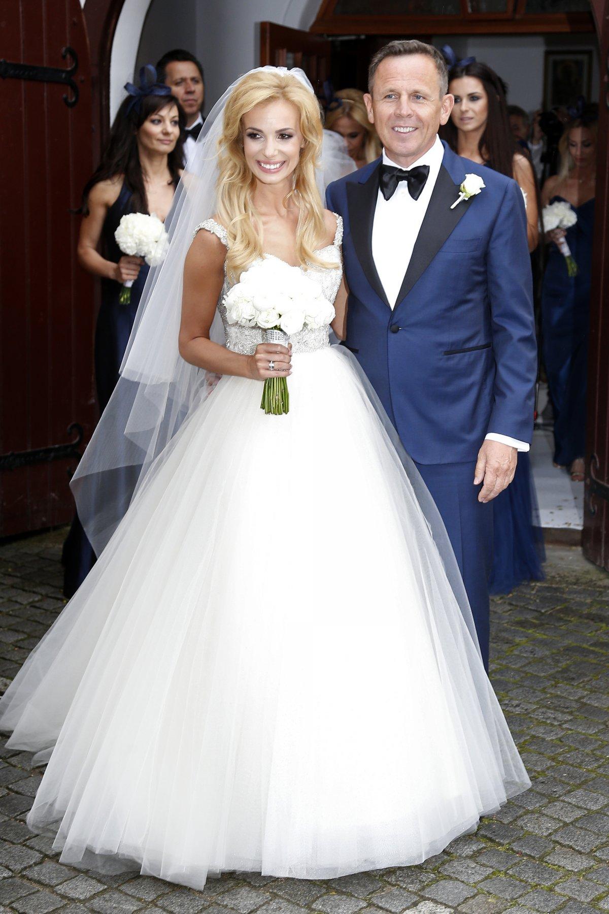 suknia ślubna Janachowskiej