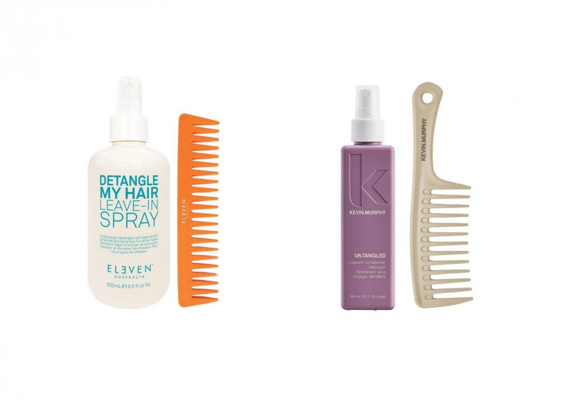 spray do rozczesywania włosów