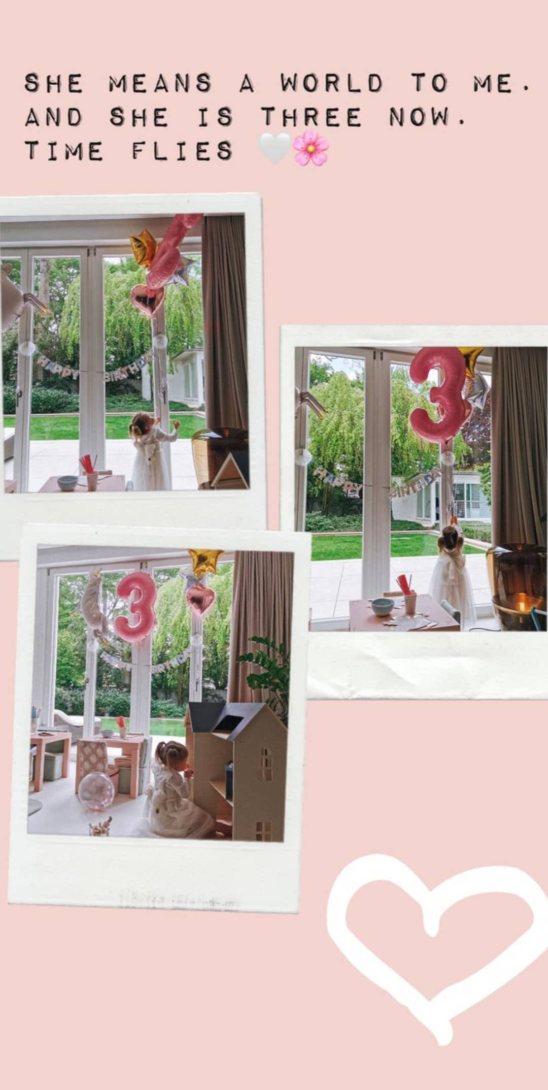 3 urodziny Klary Lewandowskiej