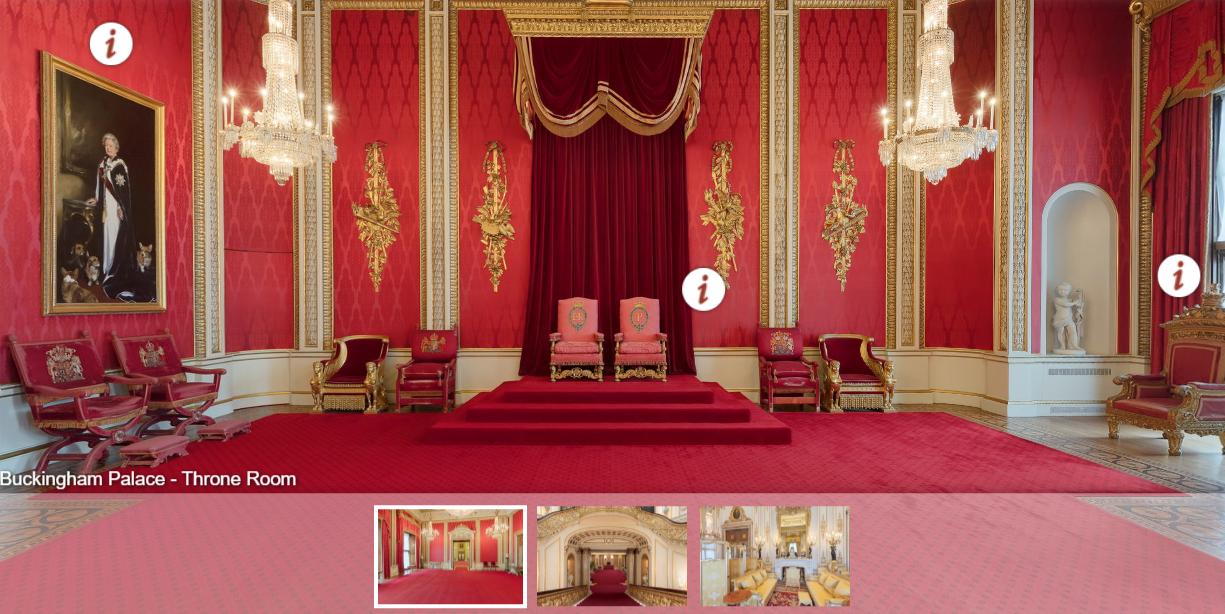 Buckingham Palace w środku