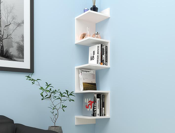 półka na książki z Biedronki