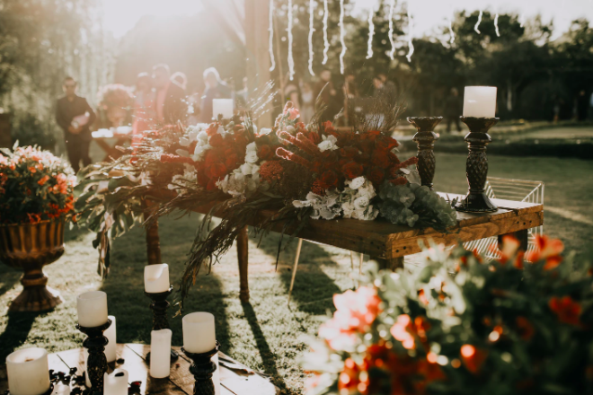 wesele na świeżym powietrzu